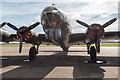TL4646 : Sally B - B17 Flying Fortress, Imperial War Museum, Duxford, Cambridgeshire by Christine Matthews