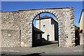 SJ1258 : Entrance to Carchar Rhuthun (Ruthin Gaol) by Jeff Buck