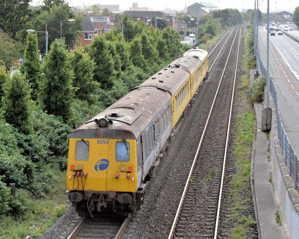 NIR Sandite train, Sydenham - October 2015(2)