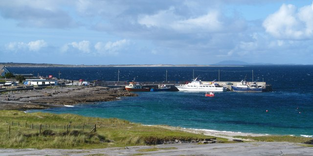 The village bay, Inis Oirr