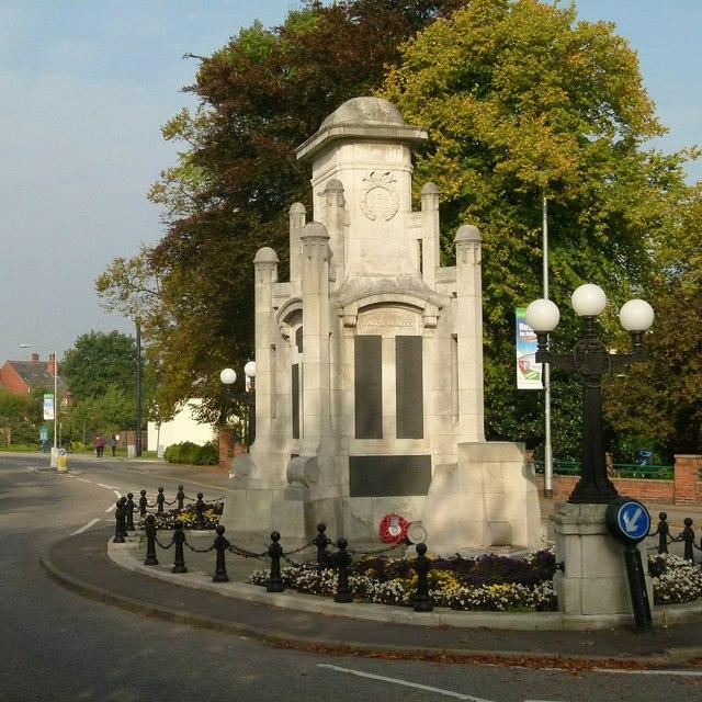 Worksop Town War Memorial
