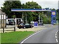 TL8194 : Ickburgh Service Station, Swaffham Road by David Dixon