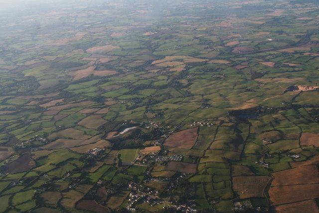 Curracloe, Ballaghablake and area: aerial 2015