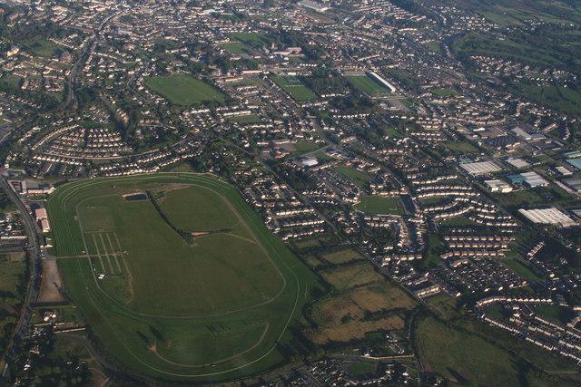 Wexford Racecourse (Bettyville): aerial 2015