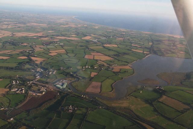 Wellingtonbridge: aerial 2015