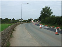 SD4764 : Road works on Slyne Road (A6)  by JThomas