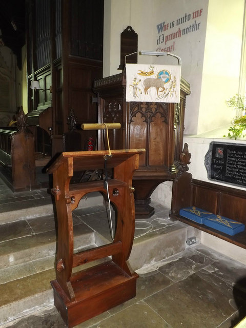 Lectern & Pulpit of St.Mary's Church