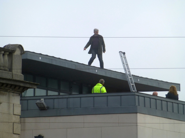 Roof inspection, Omagh