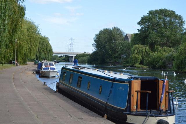 Narrowboat, River Nene