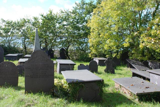 Mynwent Eglwys y Santes Fair St Mary's Church graveyard