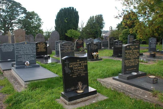 Mynwent Llanfair-is-gaer Cemetery