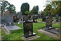 SH5065 : Mynwent Llanfair-is-gaer Cemetery by Alan Fryer