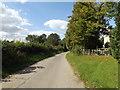 TM1861 : Church Lane & footpath by Adrian Cable