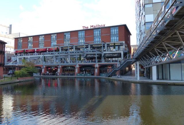 Restaurants at the Mailbox in Birmingham
