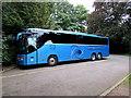 SP2864 : Edwards coach in Warwick by Jaggery