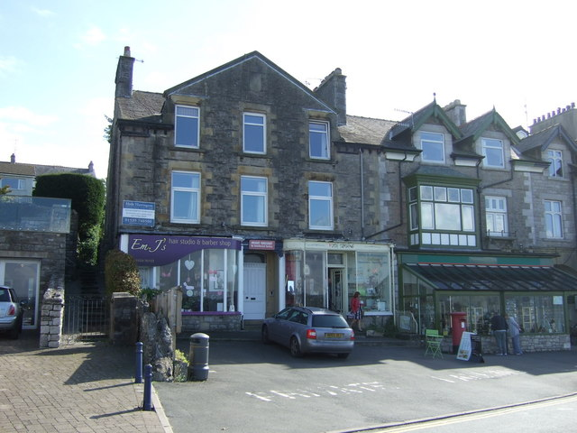 Post Office and shops, Arnside