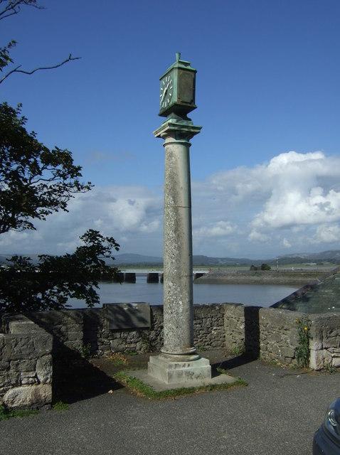 Memorial clock, Arnside