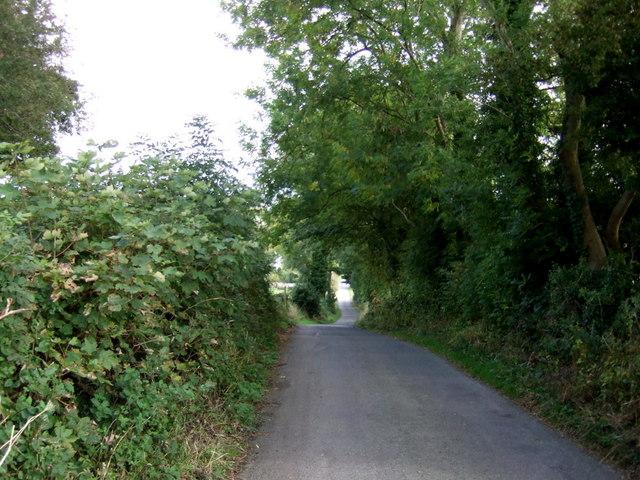 Downhill towards Greenside