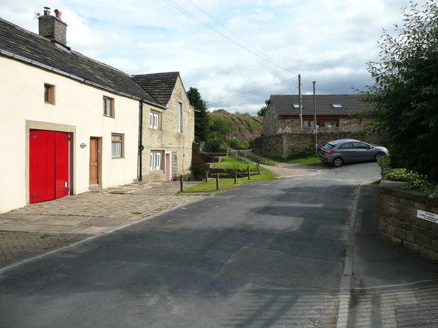 Church Lane at Quarry House, Elland