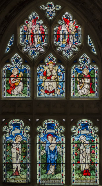 Morris window, Gloucester Cathedral