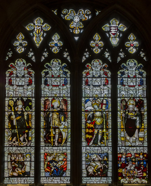 Window n.III, Gloucester Cathedral