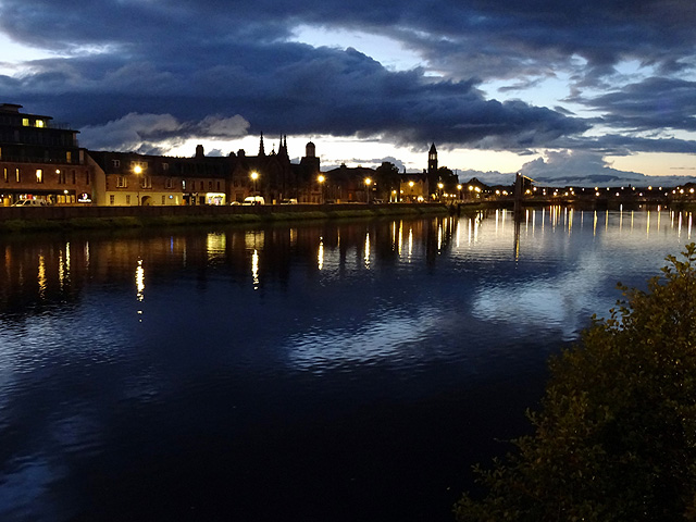 The River Ness at Inverness
