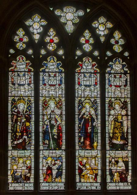 Window n.II, Gloucester Cathedral