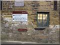 SE2734 : Leeds Industrial Museum: flood marker by Stephen Craven