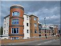 TQ3092 : New dwellings on Broomfield Lane, N13 by Mike Quinn