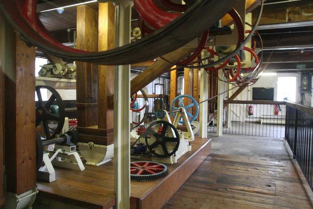Holme Mills - water turbine