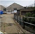 SZ5991 : Entrance to Ryde Traincare Depot by Jaggery