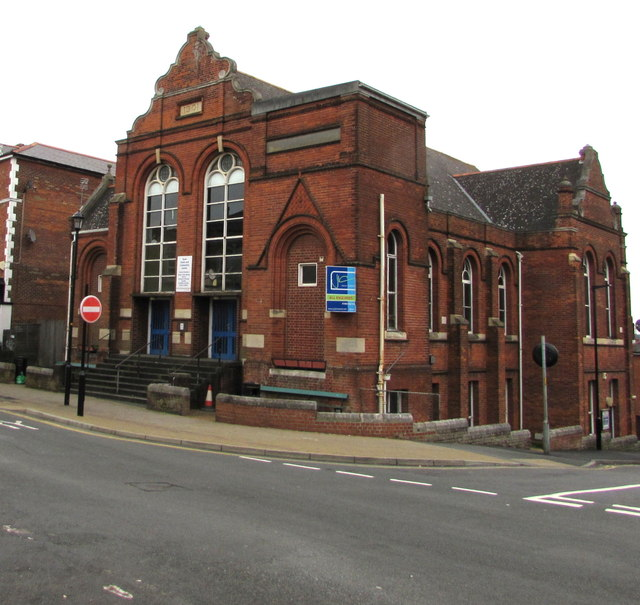 Corner view of the former Ryde Youth and Community Centre