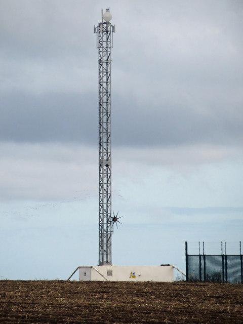 New Telecomm Mast near Worlaby