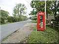 SU2816 : Furzley, converted phone box by Mike Faherty