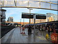 SJ8499 : Manchester Victoria station: platforms 1 and 2 by Stephen Craven