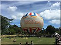 SZ0891 : Bournemouth: tethered balloon in Lower Gardens by Jonathan Hutchins