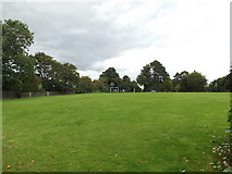 TM1763 : Playing Field off Aspall Road by Adrian Cable