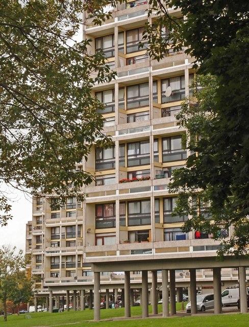 Housing blocks, Alton West Estate, Roehampton