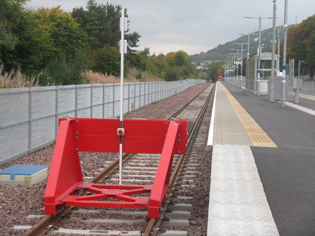 The end of the line at Tweedbank