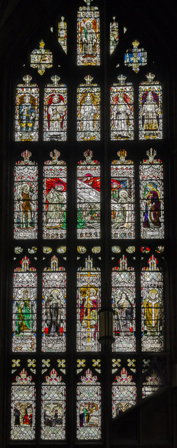 Window N.IV, Gloucester Cathedral Lady Chapel