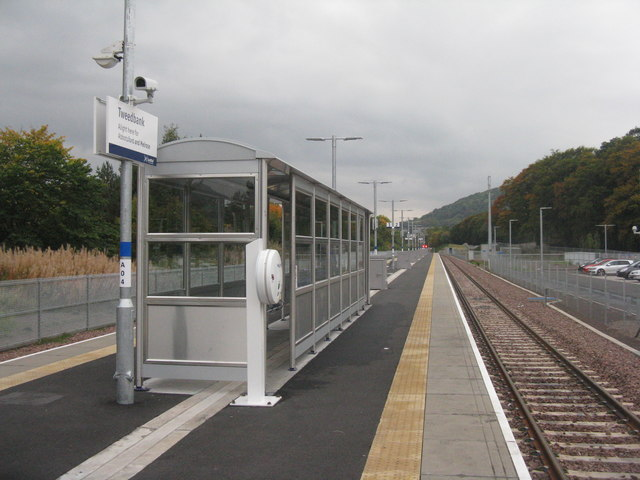 Tweedbank Station, Platform 2