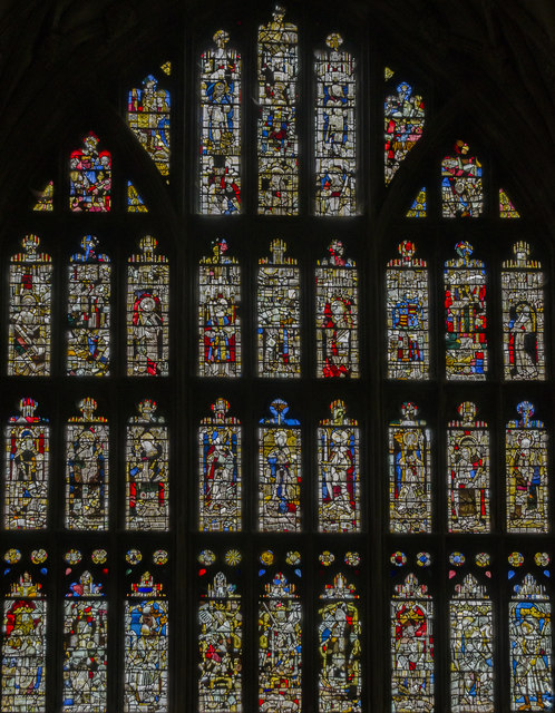 East window, Gloucester Cathedral Lady Chapel