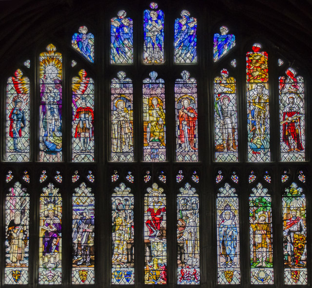 Chapter house window, Gloucester Cathedral