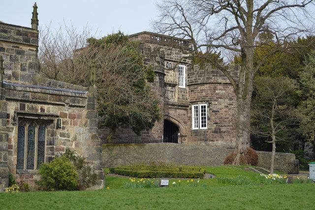 Skipton Castle Gatehouse
