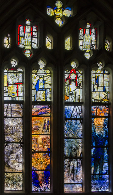 Gloucester Cathedral, Ivor Gurney window