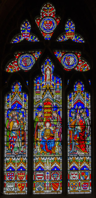 Window s.IX, Gloucester Cathedral