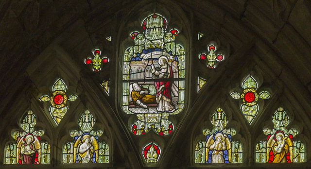 Window N6, Cloisters, Gloucester Cathedral