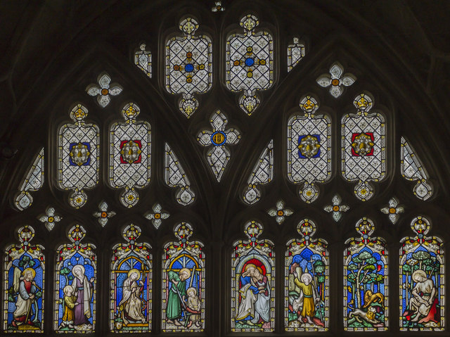 Window E6, Cloisters, Gloucester Cathedral