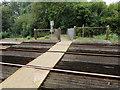 SZ5991 : Island Line level crossing near Swanmore by Jaggery