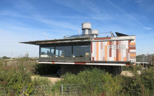 RSPB's Rainham Marshes Visitor Centre